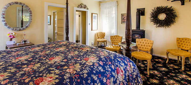 Napa Valley Bed and Breakfast Room