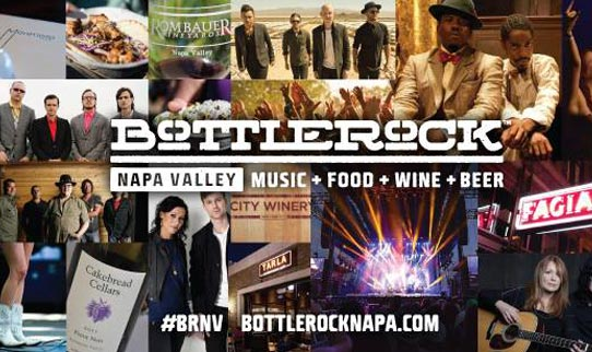 Annual Bottlerock Napa Music Festival
